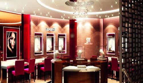 珠宝橱窗室内设计欣赏