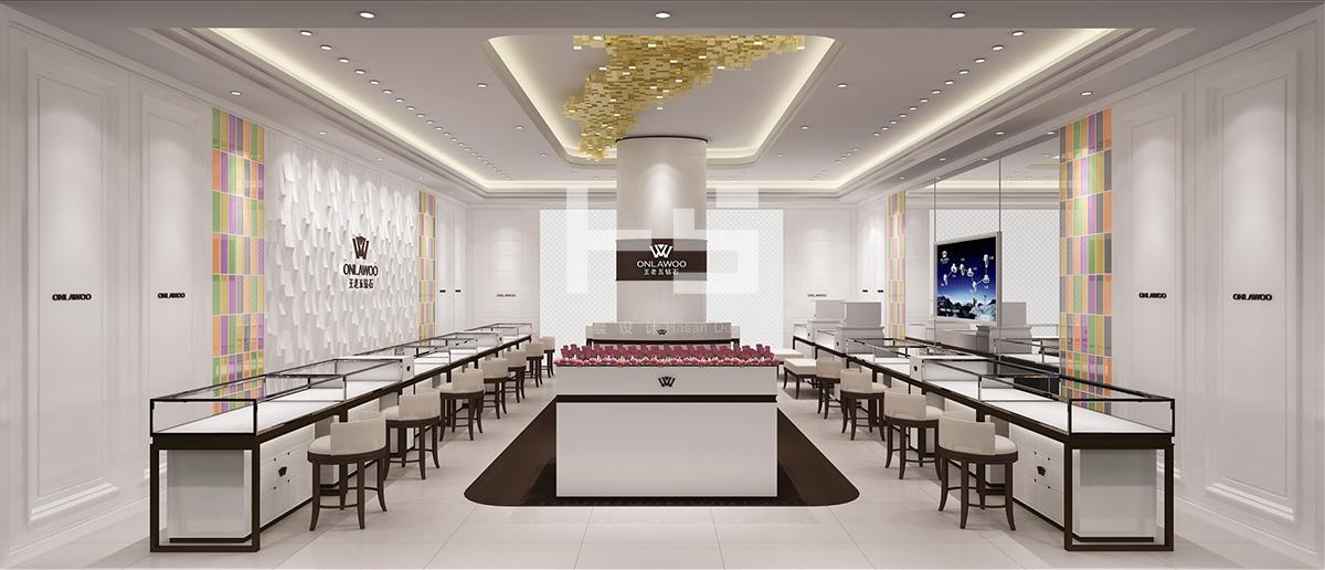 王老五钻石珠宝店设计图片