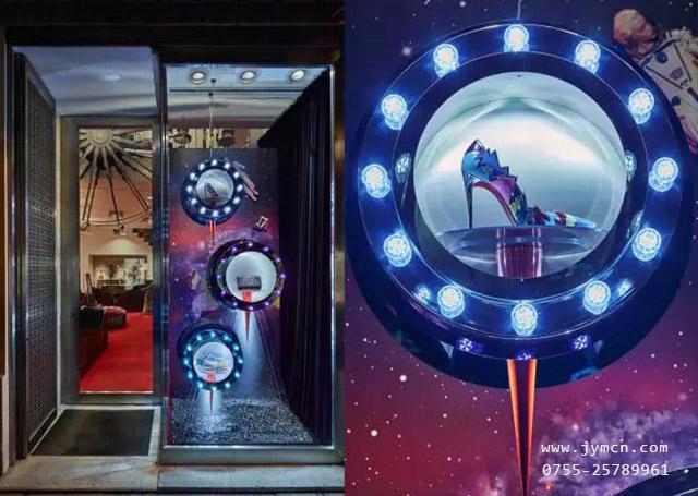【品牌橱窗设计】把橱窗搬到了太空中,在宇宙中开启一