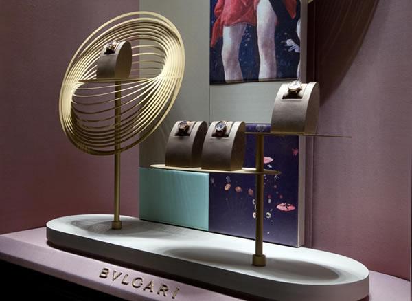 【珠宝包装】bvlgari宝格丽珠宝橱窗再塑奢华经典图片